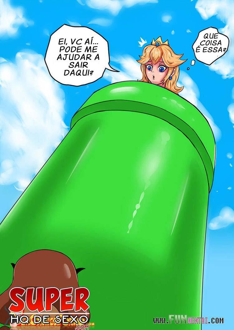 Princesa em Apuros: A deliciosa princesa dos gamos do supermario foi deixada para trás pelos irmãos, para que eles pudessem passar de fase