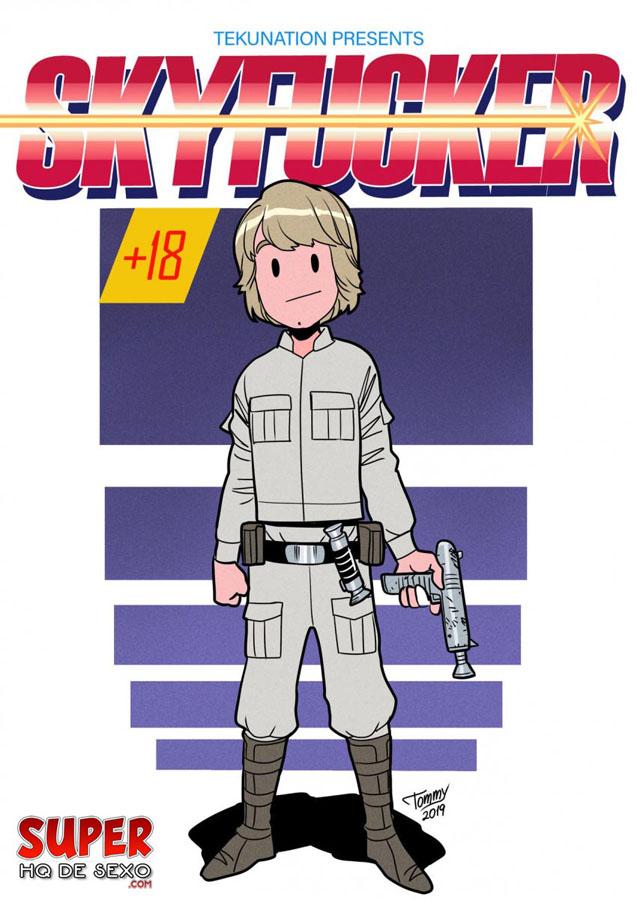 Star Wars: Antes de saber que Leia é sua irmã, o Luke comia ela direto