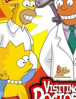 Os Simpsons – Levando a Lisa no Médico