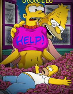 Simpsons pornô: O vovô e a nora